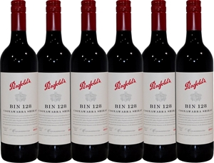 Penfolds Bin 128 Shiraz 2013 (6x 750mL),