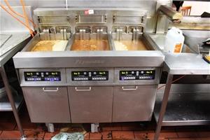 Fry Master Triple Deep Fryer