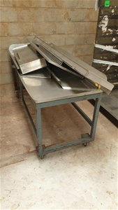 Steel Frame Trolley with Stainless Steel