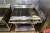Gas Char Grill with Flat Grill Section