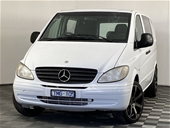 Unreserved 2005 Mercedes Benz Vito 109CDI