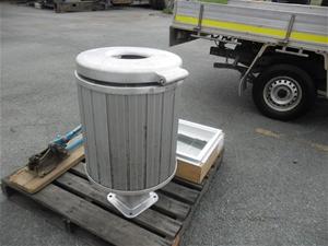 Aluminium Rubbish Bin