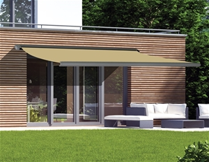 5m x 3m Retractable Folding Arm Awning H