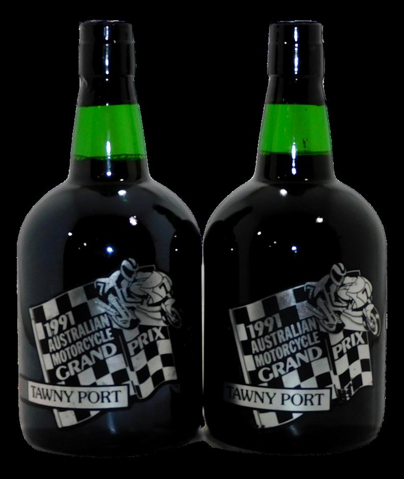 Premium Wines Australian Motor Cycle Grand Prix Tawny Port 1991 (2x 750mL)
