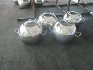 Qty 4 x Athena Induction Chafing Dishes