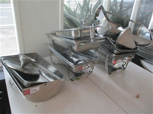 Qty Chafing Dishes / Components