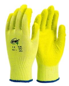 12 x Pairs NINJA PVC Coated Cotton Glove