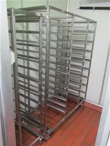 Qty 7 x Shelving Units