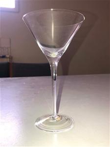 48pcs Clear Martini Glasses, Model JP/MT