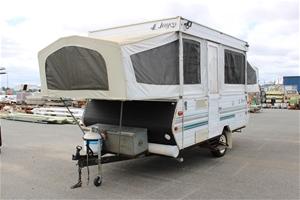 Caravan Jayco Dove 1995 with Full Annex