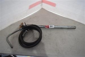 20 Litre Drum Pump with Filler Hose