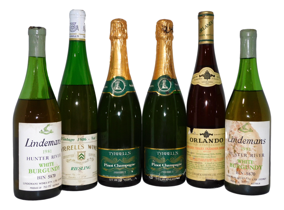 Pack of Assorted White/Sparkling Wine (6x 750mL)
