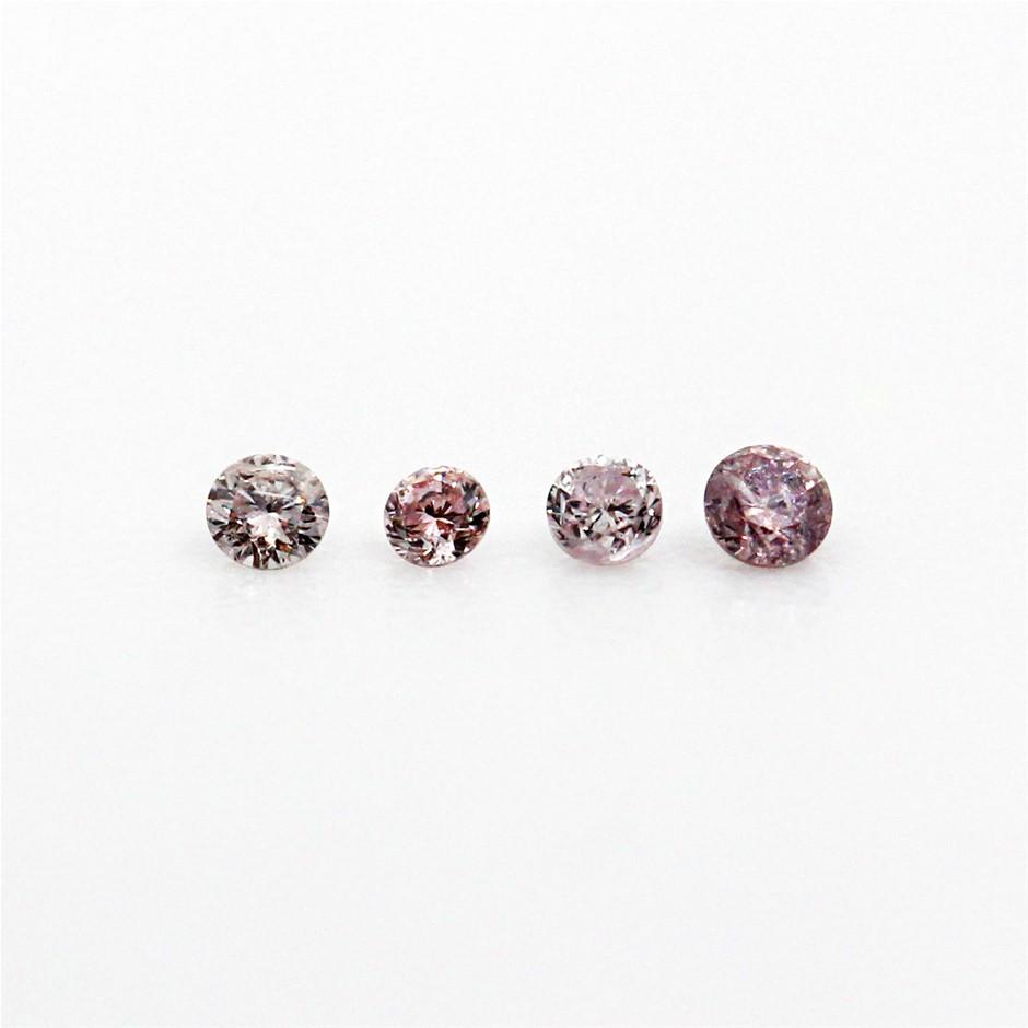 0.040 ct Pink Diamond