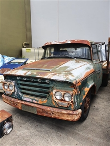 1972 Dodge 329 Manual Cab Chassis