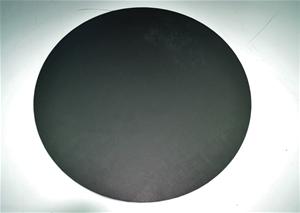 61 x Black Round Woodern Disc