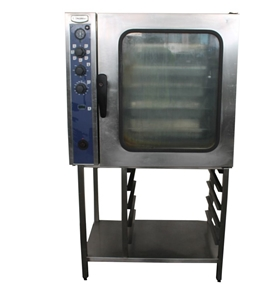 Electrolux 10 Tray Gas Combi Oven With S