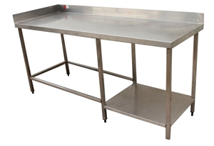 Stainless Bunch With Undershelf
