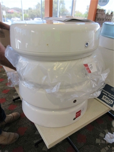 4 x Jumbo Toilet Roll Dispensers