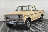 Unreserved 1985 Ford F250 XLT Lariat 460ci V8 Automatic