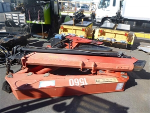 Red HIAB By HMF 1560 with Controls