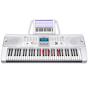 Karrera 61 Keys Electronic LED Keyboard