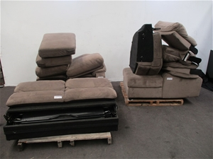 Porter Clay 6-Seater Modular Lounge with
