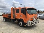 2013 Isuzu FTR 900 Crew Sitec255 4 x 2 Tipper Truck