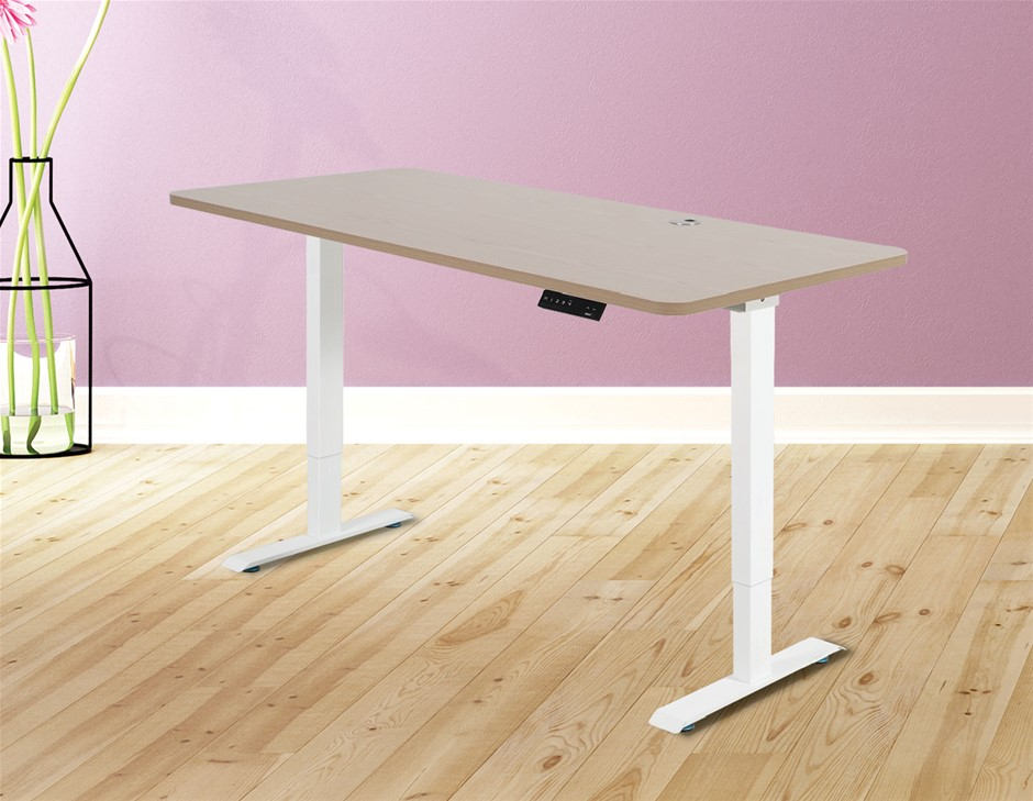 Palermo Standing Desk Sit Stand Height Adjustable Motorised 160cm Table