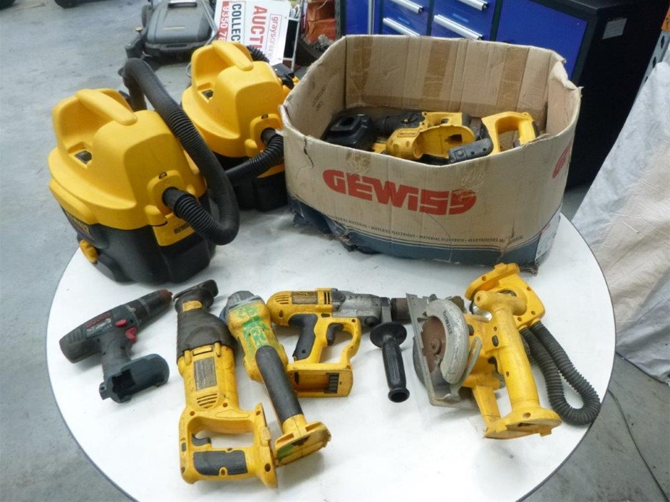 DeWalt, Bosch, Battery Operated Power Tools & Chargers Skin Only