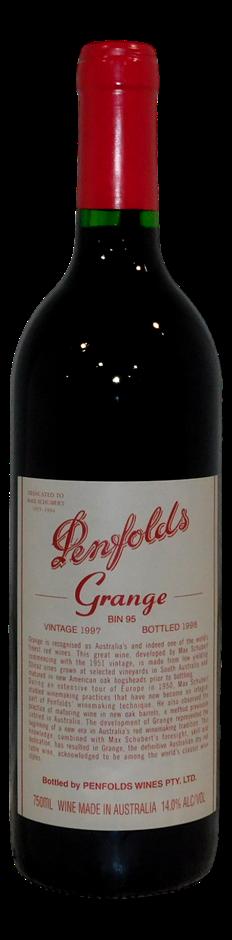 Penfolds Bin 95 Grange Shiraz 1997 (1x 750mL), SA