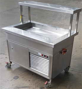 Mobile Stainless Steel Open Bench Top Re