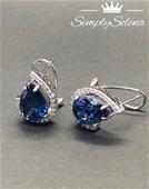 SimplySelena AAA Tanzanite Earrings