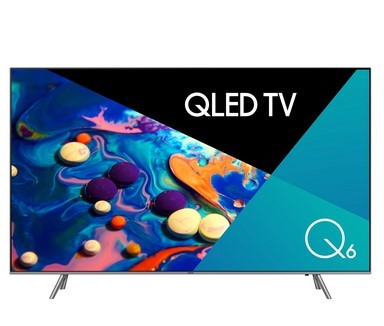 SAMSUNG 65`` TV c/w Stand & Remote Model QA65QFNAWXXY. (SN:CC67657) (277071