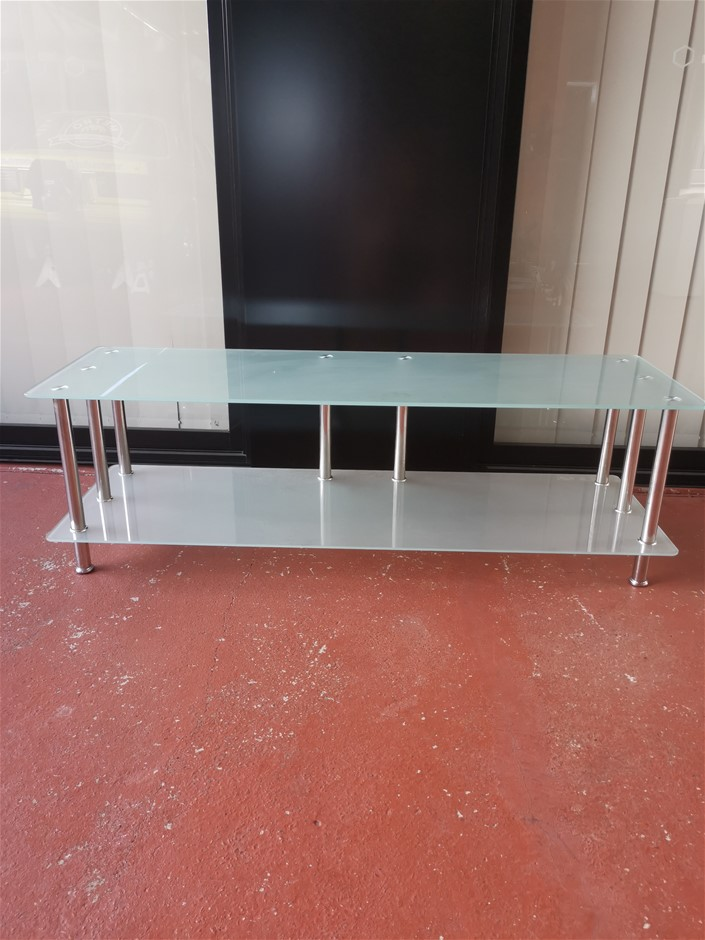 Frosted Glass Coffee Table