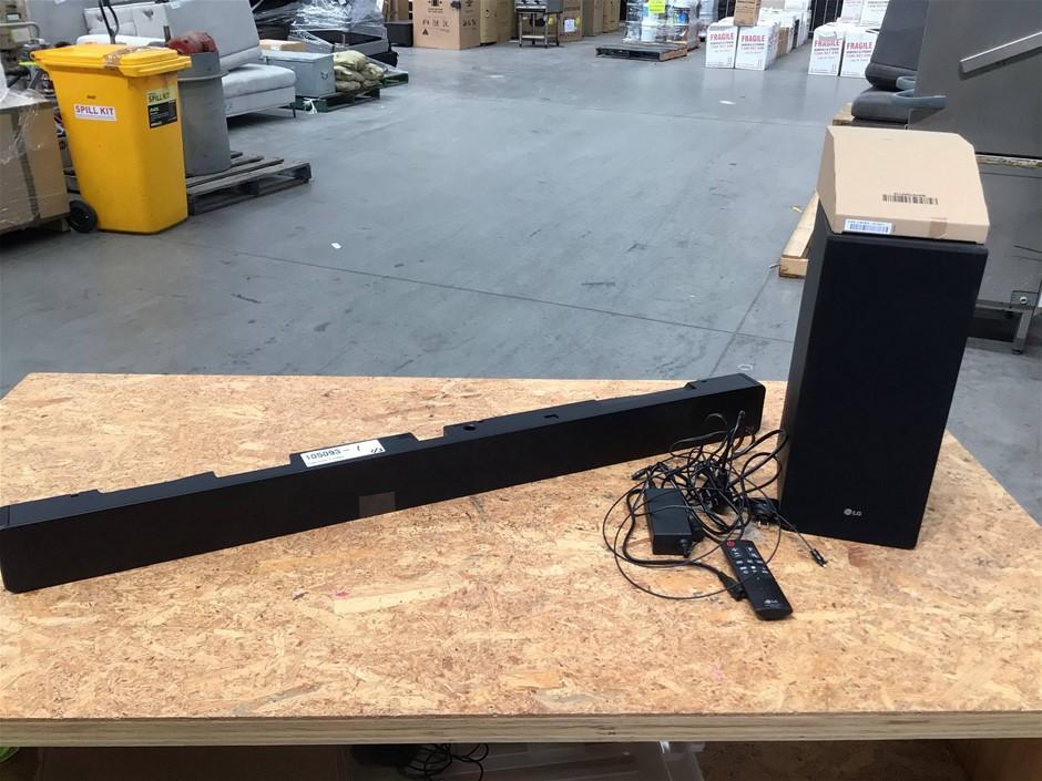 LG Sound Bar, 2.1 Channel, 360W - Model SK6Y