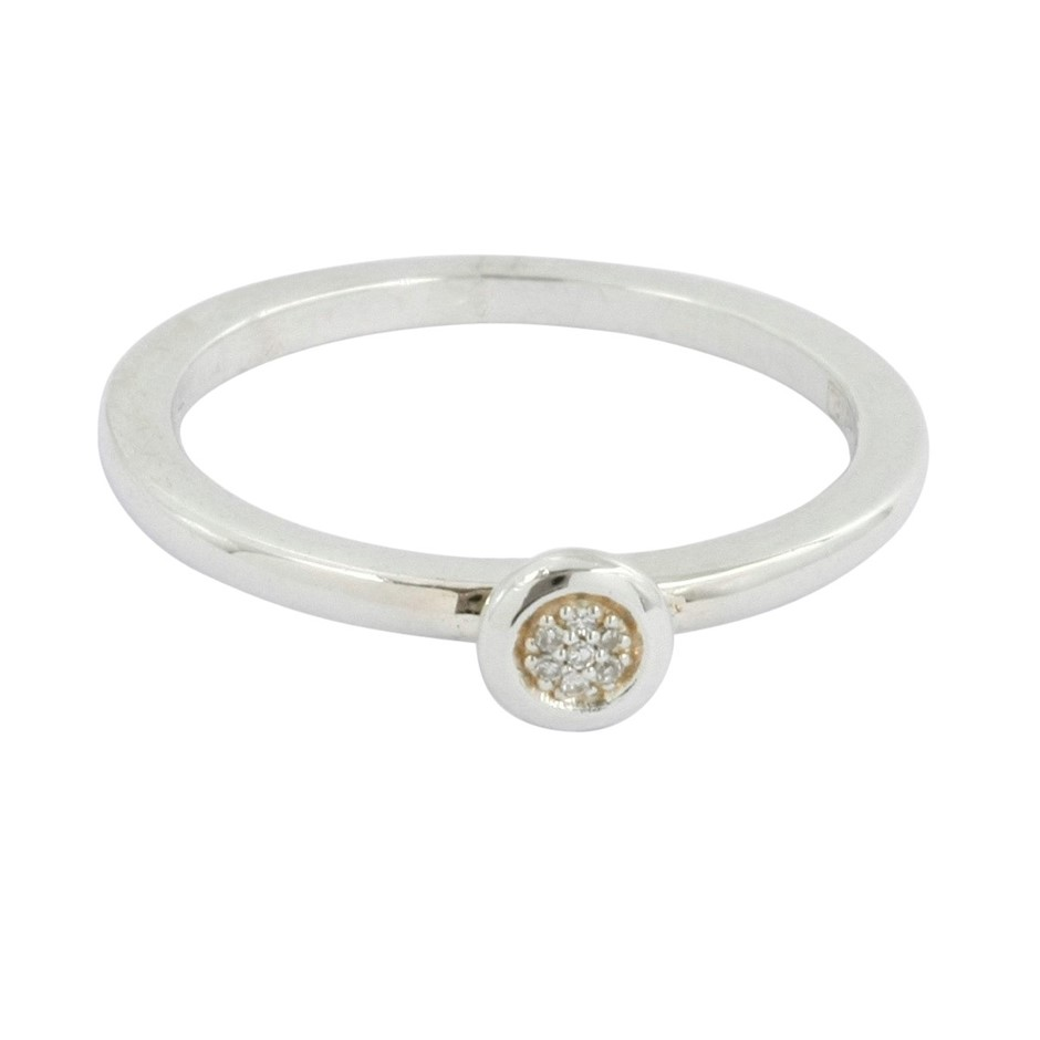 Thomas Sabo Circles Diamond Ring.
