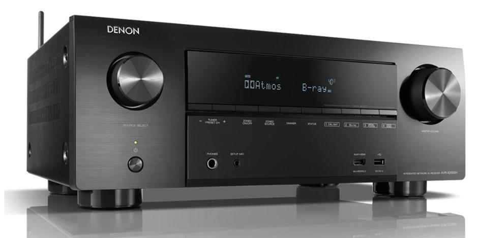 Denon AVR-X2500H 7.2CH 4K AV Receiver with Amazon Alexa Voice Control