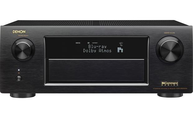 Denon AVR-X6200 9.2 CH Full 4K Ultra HD WiFi A/V Receiver (Black)