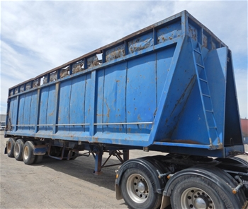 2005 Moses Triaxle Tipper Trailer