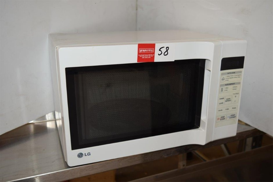 As New LG Auto Cook Microwave Oven