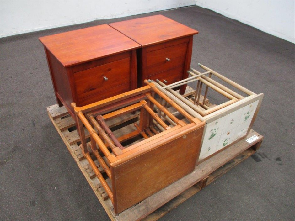 Qty of Timber Furniture
