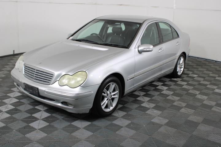 2002 Mercedes Benz C200 Kompressor Classic W203 Automatic Sedan