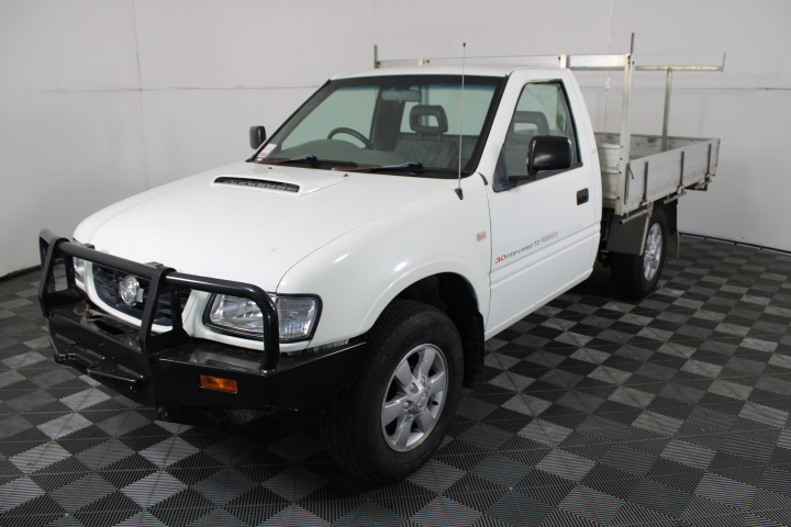 2002 Holden Rodeo LX (4x4) R9 Turbo Diesel Manual Cab Chassis
