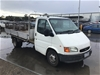 1998 Ford Transit 4 x 2 Tray Body Truck