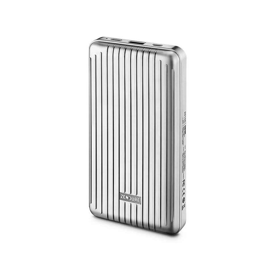 Zendure A6 PD Portable Charger Power Bank (20,100mAh) Silver