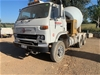 1985 Nissan UD Concrete Agitator Cab Chassis Truck