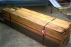 Pack of assorted Stained Treated Pine Palings.