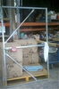Galvanised gate frame. 1800mm x 1100mm