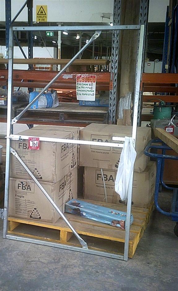 Galvanised gate frame. 1800mm x 1100mm