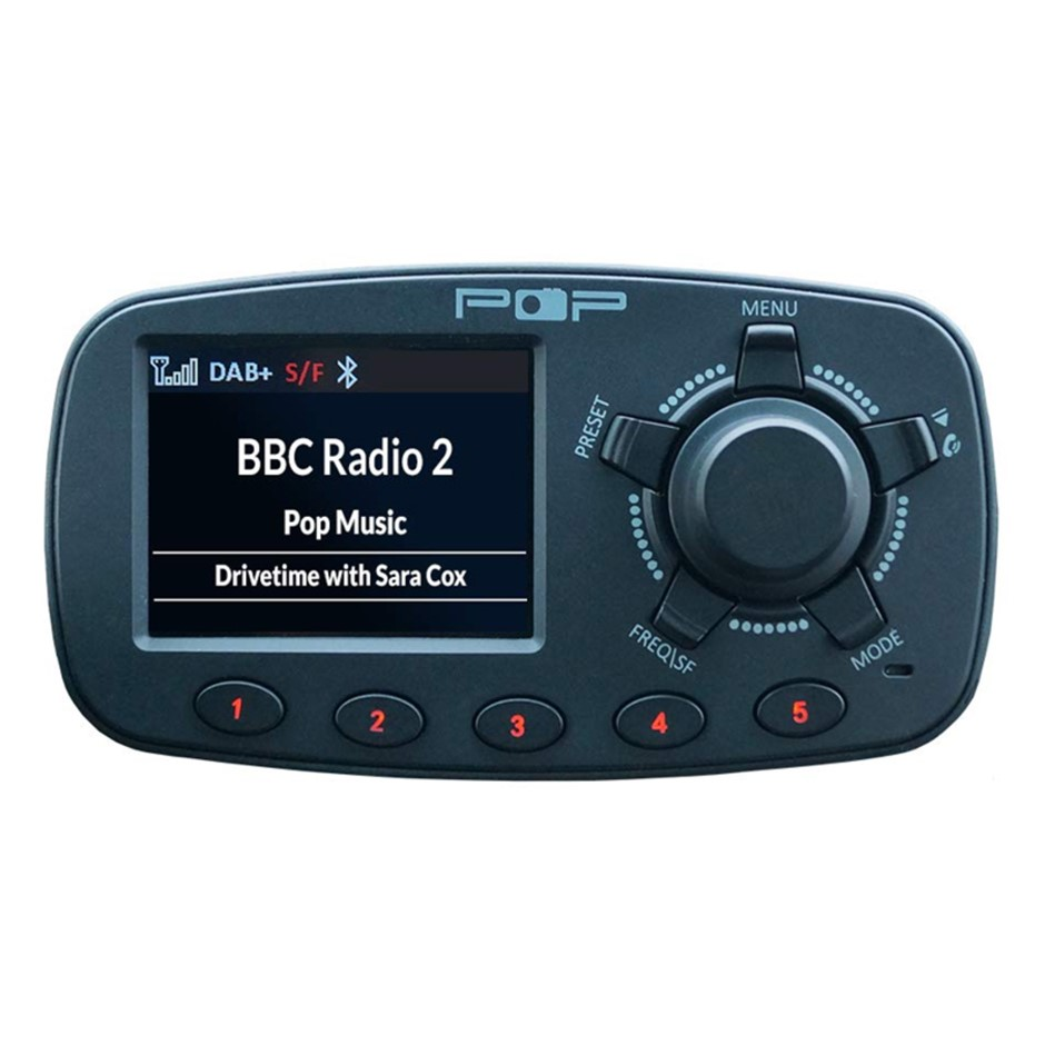 Pop Your Car 3.0 In-Car Radio & Bluetooth Adapter